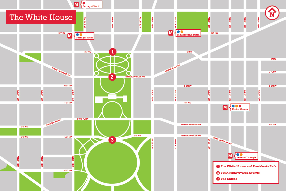 The White House The Landscape Architect S Guide To