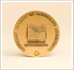 The Landscape Architecture Medal of Excellence